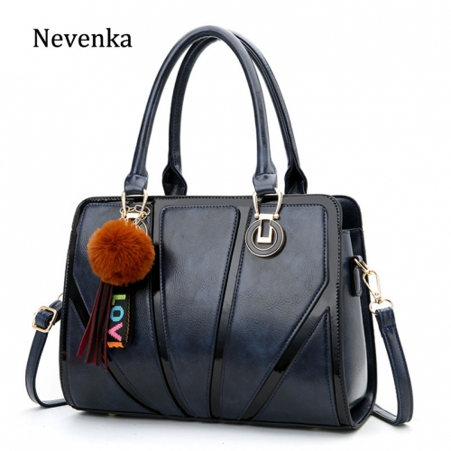 Women Leather Handbag Ladies Casual Tote Bag Girls Fashion Shoulder Bag Female Crossbody Bag Women Evening Bag 2019